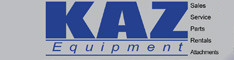 kaz equipment sales south windsor conn
