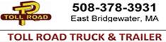 toll road truck trailer bridgewater mass