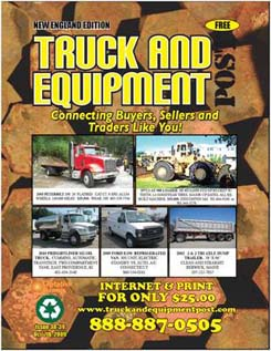 construction equipment big trucks magazine ads