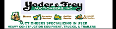 yoder and frey auctioneers specializing in used heavy equipment trucks trailers sales auction auctions