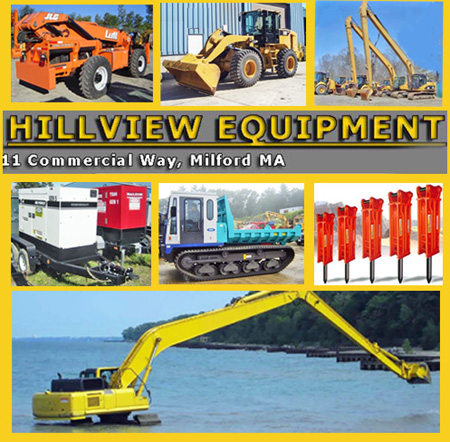 hillview heavy equipment sales milford mass