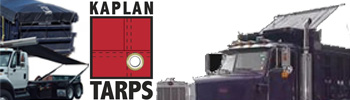 kaplan tarps dump truck trailer covers