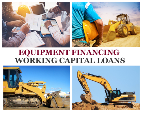 universal finance construction equiopment financing loans ma