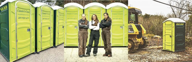 Cassie's Cans PORTABLE RESTROOM SERVICE