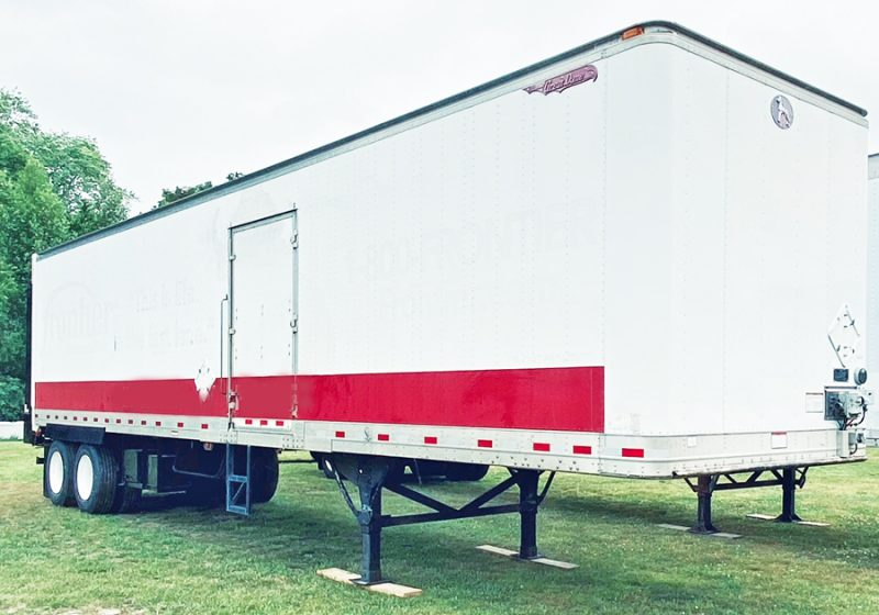 2009 GREAT DANE 40' DRY FREIGHT TRAILER