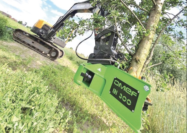 OMEF Tree Shears Available From 2.5 – 50 Ton